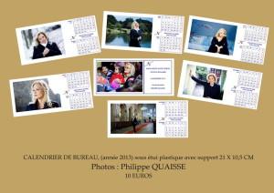 plaquette calendrier 2013
