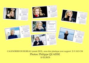 plaquette calendrier 2015