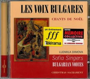 CD Les Voix bulgares format site