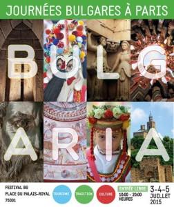 journées bulgares à Paris 2015