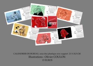 plaquette calendrier 2017