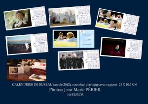 plaquette calendrier 2012