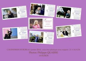 plaquette calendrier 2014
